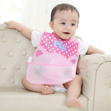 Soft Baby Infants Kid Bibs/ Baby Lunch Bibs/Cute Towel Waterproof Cloth Towel