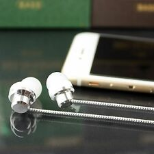 Genuine In ear Metal Stereo Handsfree Earphone With Mic For Iphone 6S,6S+,6,6+