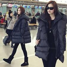 2016 New Womens Winter Loose Coat Duck Down Jacket Hooded Warm Outwear Parkas