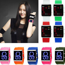 SKMEI Watch Time Date Waterproof Men Womens Sports WATCH Digital LED Wrist Watch