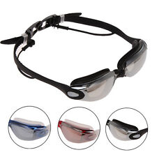 2 in 1 Adjustable Anti-fog Swimming Glasses with Earplug Goggles UV Protection