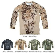 Combat Outdoor Sports Quick Dry Long Sleeve Shirt for Camping Hunting 40K7