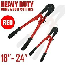 """HEAVY DUTY CARBON STEEL CABLE WIRE BOLT CUTTER TOOL 14 18 24 36 42 & 48"""" CROPPER"""