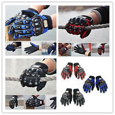1Pair Biker Motorcycle Motorbike Riding Full Finger Protective Gloves M/L/XL/XXL