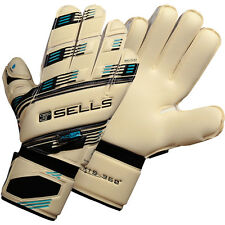 SELLS AXIS 360 ELITE AQUA Goalkeeper Gloves Size