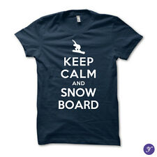 Keep Calm and Snowboard On - ski, snow, snowboard, winter, snowboarding, slope