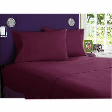 NEW WINE1000TC EGYPTIAN COTTON COMPLETE BEDDING COLLECTION SHEET SET,DUVET COVER