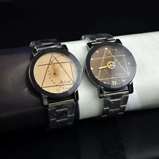 Hot Sale Men/Women Watch Compass Stainless Steel Quartz Analog Wrist Watch