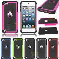 Hybrid Impact Shockproof Hard Case Cover for Apple iPod Touch 5 6 (5th 6th) Gen