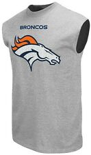 Denver Broncos NFL Critical Victory 9 Muscle Gray Shirt Mens Big & Tall Sizes