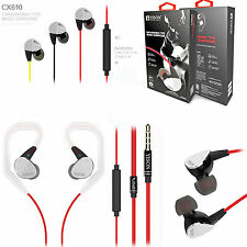 Genuine Yison CX610 In Ear Sports Stereo Headphones Earphones With Mic/Remote