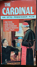 The Cardinal (VHS) 1963 epic stars Tom Tryon, Carol Lynley, John Huston