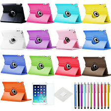 360° Rotating PU Leather Smart Cover Stand Case for Apple iPad Air 5th Gen Hot