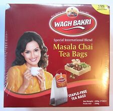 WAGH BAKRI Special Blend INSTANT Indian Masala Chai Tea Bags CHOOSE YOUR AMOUNT!