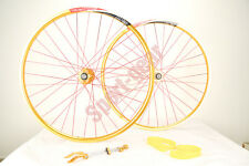 "26"" Tailor-Made Front 9/15/20mm & Rear 9/12mm Wheelset Alexrims DP20 Novatec Hub"