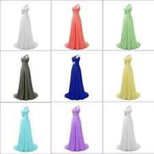 Prom Evening Dress Long Bridesmaid Wedding Party Cocktail Dance Gown Hot Sale 9