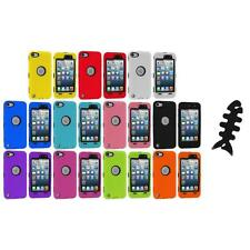 For Apple iPod Touch 6 6th Gen Hybrid Armor Defender Case Cover Screen Protector