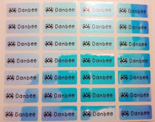 Small Blue Laser Personalised Name Labels, Name Stickers, 22x09mm, Waterproof