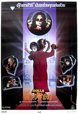 DOLLS Movie POSTER Rare Horror Gore Evil Dead Zombies