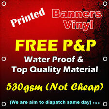 Top Quality Banner Printing, Cheap Shop Sign, 530GSM Material, water proof 100%