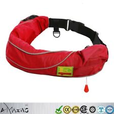 A+Quality Inflate Inflatable Belt Pack Waist Life Jacket Buoyancy Aid PFD Manual