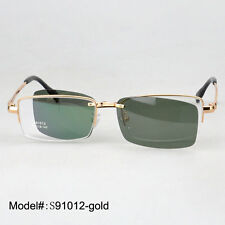 S91012 Magnetic polarized clip on sunshades UV400 metal optical frames eyewear