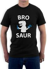 BRO SAUR - Gift For Brother Funny Cool T-Rex T-Shirt Raptor