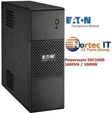 Eaton 5S1600AU 1600VA/1000W Line Interactive Tower UPS AVR with Booster+ Fader
