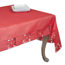 Fennco Styles Bellingham Embroidered and Cutwork Tablecloth - 6 Sizes