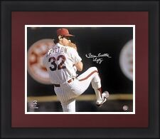 Philadelphia Phillies Steve Carlton Autographed Signed 16x20 Lefty Photo JSA PSA