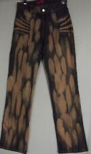 Sizes 2 6 8 APPLE BOTTOMS BLEACHED COATED JEANS Stretch Bottom FAUX MUDDY