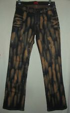APPLE BOTTOMS 4 or 8 BLEACHED COATED SHINY JEANS Stretch Bottom faux muddy