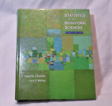 STATISTICS FOR THE BEHAVIORAL SCIENCES TEXTBOOK 8TH EDITION EXC HTF RRP$700 #T2