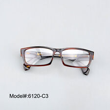 6120 Tortoise stylish spectacles quality acetate optical glasses myopia eyewear