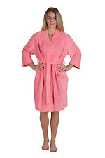 Kimono Style Micro Terry Robe Spa Robe Bridesmaid Robe Plus Size 2x/3x Available