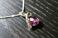 Pendant Necklaces Amethyst Jewelry Fashion Jewelry Crystal Teardrop Necklace