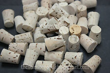 10off 11mm - 14mm Cork Stoppers Bungs Corks Fishing Test Tube Pack of 10 (ref3)