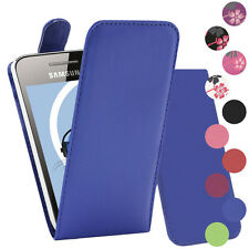PU Leather Verticcal Flip Case Cover For Samsung S5830 Galaxy Ace