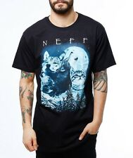 BRAND NEW WITH TAGS Neff UP NORTH Tee Shirt BLACK MEDIUM LARGE XLARGE LIMITED