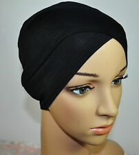 New Practical Comfortable Cotton Lycra Under Scarf hijab Tube Turban Multicolor