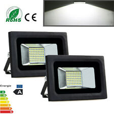 2X 30W Cool White LED Wall Wash Flood Light Lamp Garden Outdoor Spot Light IP65