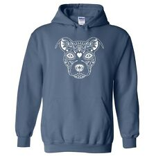 Sugar Skull Pit Bull BCBC Unisex Pullover Hoodie  (PCTM157) - New - Shipped ASAP