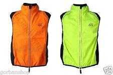 Bicycle Bike Running Riding Outdoor Vest Windcoat Breathable Sleeveless Hi Vis