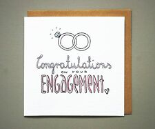 engagement card for a friend for her congratulations on your engagement rings