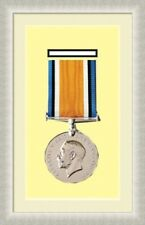 NEW Military War Medal 3D Box Picture Frame Fits 1 Medal- Ivory Mount Made in Uk