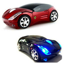 Car Shape Wireless 3 Buttons 1000DPI 2.4GHz Optical Mouse USB for PC Laptop