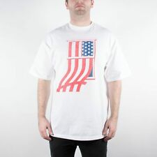 UNDEFEATED WINDOW FLAG TEE SHIRT WHITE UNDFTD PLAY DIRTY