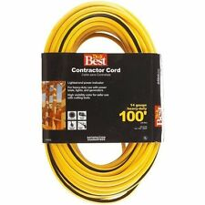 14/3 LIGHTED CONTRACTOR EXTENSION CORD - 25' / 50' / 100' AVAILABLE - SHIPS FREE