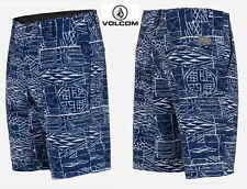 VOLCOM SURF&TURF board shorts Frickin Mixed blue V4S hybrid 30 31 32 33 34 36 38