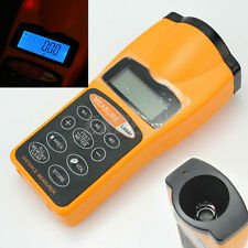 LCD Ultrasonic Measure Distance Meter Laser Range Finders 18m Measurer Tool New^